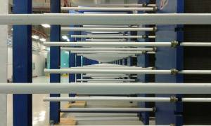 Enwave heat exchanger
