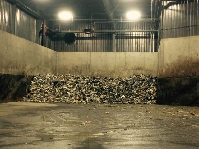 Waste organics